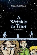 A WRINKLE IN TIME - L'ENGLE, MADELEINE/ LARSON, HOPE (ILT) - NEW PAPERBACK BOOK