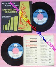 LP 45 7'' GINETTO E LA SUA FISARMONICA Quadriglia napoletana 1963 no cd mc dvd