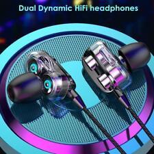3.5mm Super Bass In ear HIFI Stereo Earphone Earbuds Headphone Headset With  Mic