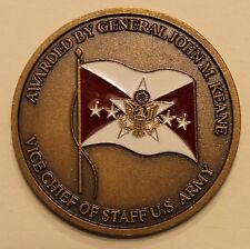 General John M Keane Vice Chief of Staff US Army Challenge Coin