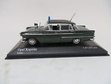 MINICHAMPS 1959 OPEL KAPITAN POLICE  DIECAST 1/43 SCALE  1 OF 1632 PIECES NIB