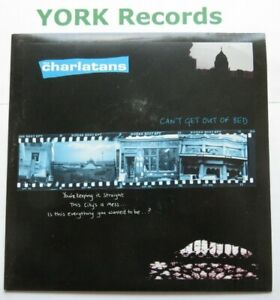 "CHARLATANS - Can't Get Out Of Bed - Ex Con 7"" Single Beggars Banquet BBQ 27"