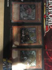 YuGiOh Theinen The Great, Andro, and Teleia Sphinx Trio LP EP1-EN001, 002, 003