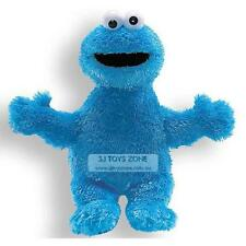 Sesame Street Bright Blue Soft Plush Small Cookie Monster 25cm Kids Stuffed Toy