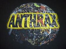 Anthrax Vintage Shirt ( Used Size Xl ) Very Rare & In Good Vintage Condition!