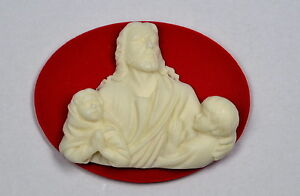 JESUS CHRIST CAMEO - SILICONE MOULD, fimo, resin, polymer clay, plaster mold