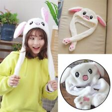 Novel Rabbit Ear Hat Can Move Airbag Magnet Cap Plush Record Video Dance Toy New