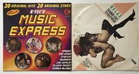 Relax-Frankie Goes To Hollywood+Music Express 20 Hits Records Vinyl LP (10