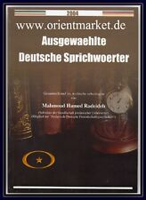Ausgewählte Deutsche Sprichwörter Arabisch <> Deutsch Wörterbuch