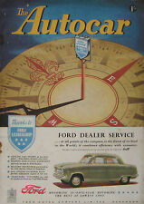 Autocar magazine 16/5/1952 featuring S.M. 1500 road test