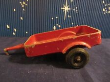 Lee Toys  Farm Wagon Trailer - Red -  6.5in long    Used  (1216)