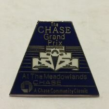 Chase Grand Prix - At the Meadowlands Racing - Vintage Pin - EX - Very Nice