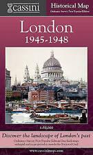 Cassini Historical Map, London  1945-1948 (LON-NPO): Discover the Landscape of L