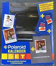 Polaroid 600 P Kalender Set 2004 / Kamera + 2 Filme + Fotokalender NEU OVP