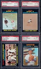 PSA 8 1971 Topps #331 Game #5 1970 World Series Brooks Robinson Commits Robbery!