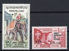 Laos 1960 Set clean MNH OG