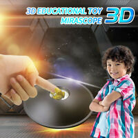 3D Mirascope Hologram Chamber Magic Box Optical Projection Visual Illusion Toy