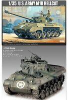 [ACADEMY] U.S. ARMY M18 HELLCAT #13255  Plastic model set  1/35 Scale