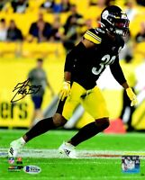 Minkah Fitzpatrick autographed signed 8x10 photo Pittsburgh Steelers Beckett