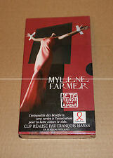 MYLENE FARMER - JE TE RENDS TON AMOUR - VHS PROMO NEUF / SCELLE - COLLECTOR