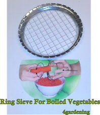 Ring Sieve Grater String Slicer Cutter For Boiled Vegetables