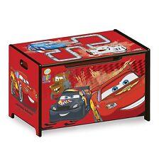 Delta Children Disney Cars Convertible Toy Box/ Desk