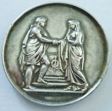 Médaille de mariage en argent (silver).