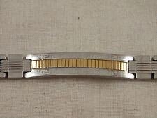 """Gold & Silver Stainless Steel Greek Key bracelet 8"""""""