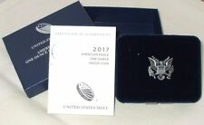 2017 American Silver Eagle Proof with box and COA