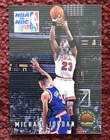 MICHAEL JORDAN 1993-94 Skybox Premium NBA on NBC #14, Chicago Bulls, HOF 🏀🐐💥