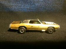 Vintage 1967 Redline Hotwheels Custom T-Bird Gold With Black Roof