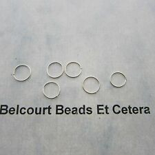 5 Sterling Silver 7mm .925 Closed O Rings 24GA