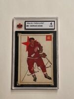 1954-55 PARKHURST HOCKEY #41 GORDIE HOWE MR HOCKEY RED WINGS NHL HOF KSA 4 VGE