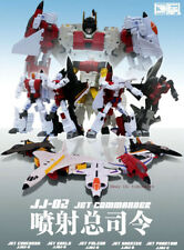 In Stock Transformers Robot JJ-02 Jet Commander G1 Superion Combination Toy