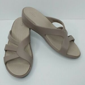 Crocs The Sanrah Strappy Wedge Sandals New size 10