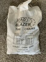 Quality Chain 2219 Non-Cam 5.5mm Link Tire Chains Snow Traction Road Blazer USA