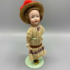 All Original Tiny Heubach Character Girl - 8 Inches