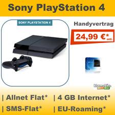 Handyvertrag mit Playstation 4 statt Handy, PS4 Bundle Vertrag Allnet Flat 4 GB