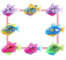 Robotic Fish Activated Battery Powered Swimming Boy Bath Pet Toys Aquarium Decor