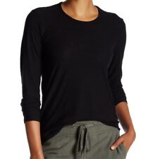$95 NWT JAMES PERSE Sz2(M) CREW NECK LONG SLEEVE JERSEY TEE IN BLACK