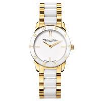 Thomas Sabo Damen Armbanduhr gold/weiß WA0193-262-202