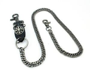 Schlüsselkette Hosen Biker Börsen Brieftaschen Kette Skull Bones Wallet Chain