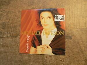 CD SINGLE MICHAEL JACKSON EARTH SONG AND MJ MEGAREMIX 1995