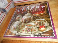 The Collectible Teapot & Tea 2012 Wall Calendar,A Freyberg,M Brigdale,w/Tea lore