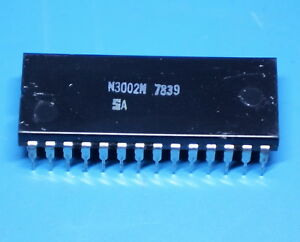 Signetics Rare N3002N 2-Bit Processor Vintage 1978 intel 3002
