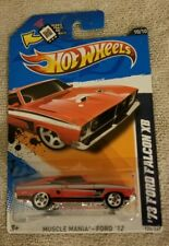 2012 Hot Wheels '73 Ford Falcon XB red