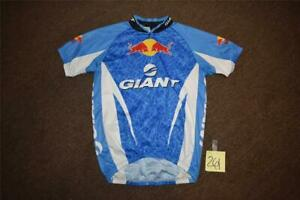 RED BULL GIANT CYCLING MEN'S LARGE CYCLE / BIKE JERSEY - TOP SHIRT