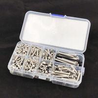 370 Pcs/Set 85076-4 Stainless Steel Screws Kit For 1/7 RC Car Traxxas UDR