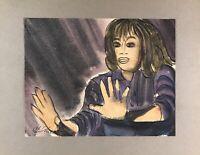 Georg Schott *1906 Portrait Frau zeigt ihre Hände Stop Zurückweisung 1967?