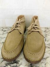 JCrew $168 Suede MacAlister boot with moccasin toe Stone 9 shoe 10396